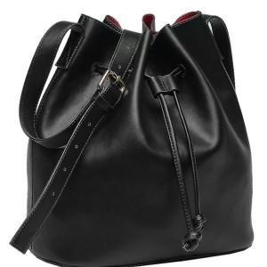 Beth Friedman Vegan Leather Bucket Bag