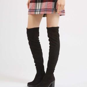 Topshop Cocktail High Leg Heeled Boots