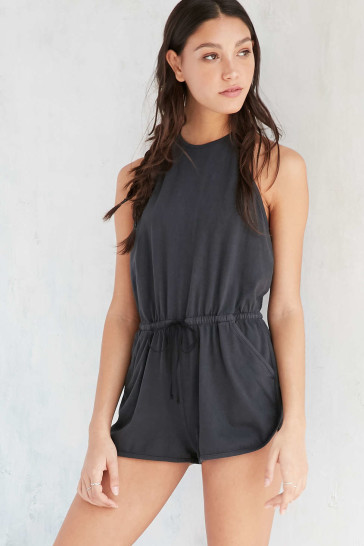 Knit Your Average Romper: Urban Outfitters Halter Knit Romper