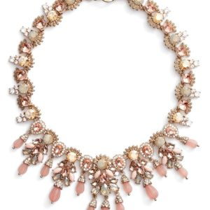 MARCHESA Sheer Bliss Collar Necklace