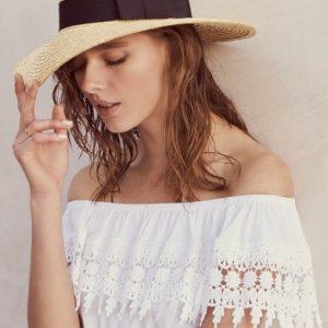 'Joanna' Straw Hat